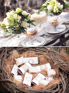 Bless This Nest Bird Baby Shower {Gender Neutral}