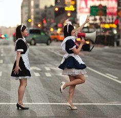 #maids #japan #akihabara