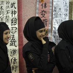 Martial Arts Becoming More Popular Among Middle Eastern Women