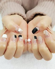 Ideas for neutral space nails