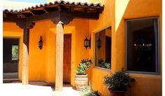 fotos de fachadas de casas coloniales mexicanas