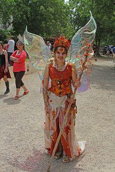 Magnolia Fawn at Scarborough Faire. Fairy costume