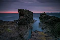A Post Sunset Seascape .. | .. from Opinan, Laide, Wester Ro… | Flickr