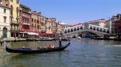 Canal Grande and Rialto Venice