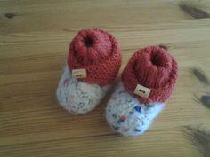 """""""Wilmaatje's"""" voor kleine baby voetjes"""