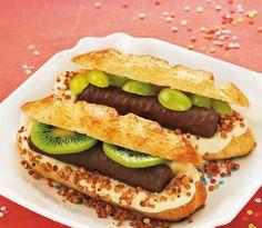 Süße Hot Dogs für Kinder -  Ein tolles Rezept für den Kindergeburtstag