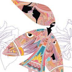 486dsn - Fata din Iris Iris, Drawings, Sketches, Drawing, Portrait, Draw, Grimm, Bearded Iris, Irises