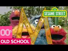 Sesame Street: M is for Monster Song - YouTube Monster Songs, Pbs Kids, Pretty Cool, Old School, Homeschool, Lettering, Christmas Ornaments, Cool Stuff, Street