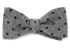REVOLVE DOTS BOW TIES - NAVY | Ties, Bow Ties, and Pocket Squares | The Tie Bar