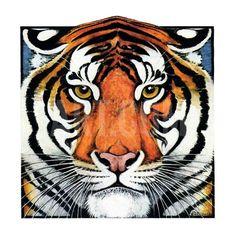 """Tiger Head,""September 18, 1926 Giclee Print by Paul Bransom at Art.com"