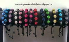 Bracelet Shamballa Passion, Bracelets, Bracelet, Arm Bracelets, Bangle, Bangles, Anklets