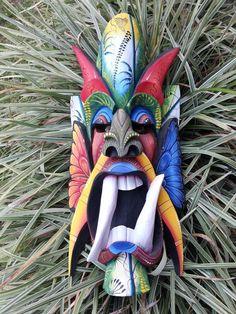 Borucas mask (Costa Rican indigenous tribe)