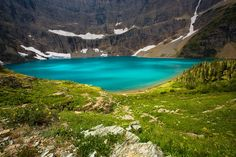 Iceberg Lake, Glacier National Park, Montana. I will be back! 4.8 miles and 1200 ft. elevation gain