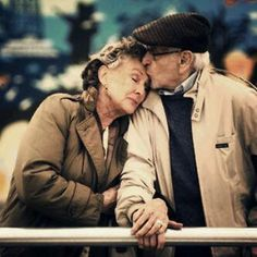 b&w, couple, couples, cute couples, for ever, hug, in love, kiss, loove, love, man, married, old, old couple, old couples, old love, sweet, true love, woman, chanel theodore