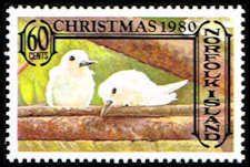 Norfolk Island #276 Stamp - Fairy Terns Stamp - PC NI 276-1 MNH #birds #tern #norfolkisland #stamps #postagestamps #vintagestamps