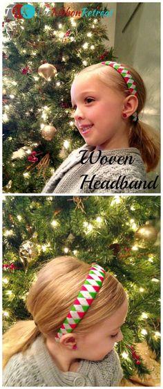 Ribbon Woven Headband Tutorial - The Ribbon Retreat Blog