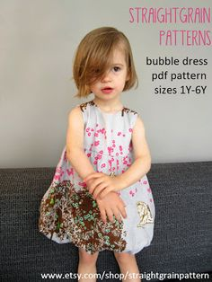 Edit, March 19: the free bubble dress pattern has been replaced by an all new and improved version, which is sold via my patterns pagefor $8. My apologies to those of you who were 'lure…