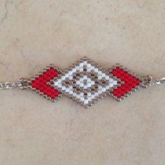 Bracelet manchette magenta tis