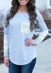 Long Sleeve Shirts And T-Shirts | Cheap White Long Sleeve Shirt For Women Online At Wholesale Prices | Sammydress.com