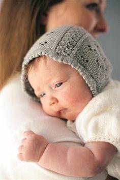 Beloved Baby Bonnet from Jane Austen Knits Summer 2012 Magazine