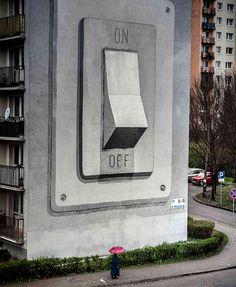Esclif street art — Designspiration