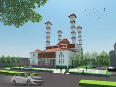 Competition entry-Sayembara Masjid Agung Pemalang 2016