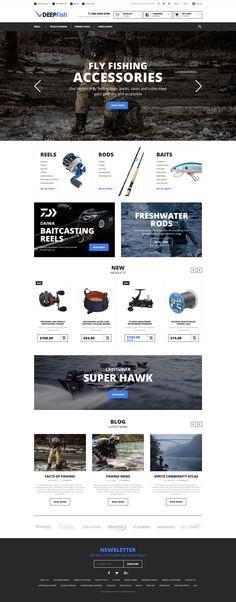 DeepFish - Fishing Store Magento Theme http://www.templatemonster.com/magento-themes/fishing-responsive-magento-theme-58934.html