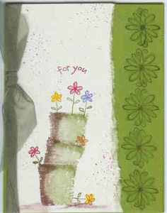 stacked pots by Inkalicious - Cards and Paper Crafts at Splitcoaststampers