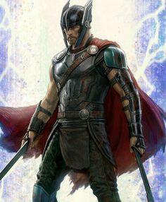 Thor Ragnarok Movie Poster 2017 With Chris Hemsworth as Thor Odinson, Check out all 21 Thor Ragnarok Easter Eggs - DigitalEntertainmentReview.com
