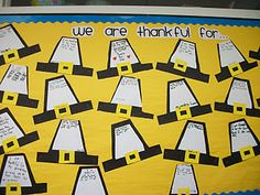 We also have been talking about Thanksgiving and what we are thankful for. Here is the project the kiddos completed today!