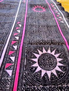 batik and reverse applique