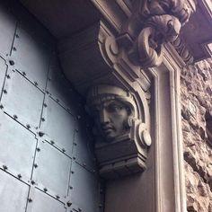 Amazing door detail Milan. #doorfascination #Milan #Milano Milan City, Door Detail, Greek, Statue, Explore, Photo And Video, Amazing, Instagram, Art