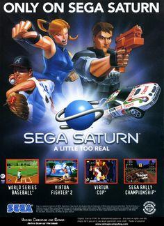 Sega Saturn Ad - 1996Sega Saturn.