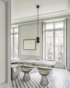 Avenue Montaigne residence by famed French architect Joseph Dirant @tmagazine #interiors #architecture