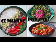Ce mănânc într-o zi vegan - episodul 3! - YouTube Cobb Salad, Youtube, Food, Eten, Meals, Diet