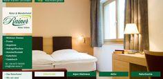 Doppelzimmer Deluxe im Hotel Rainer Jaufental Natur in Südtirol Urlaub in den Bergen Alpen. Hotelzimmer in Sterzing, Urlaubshotel am Jaufenpass.