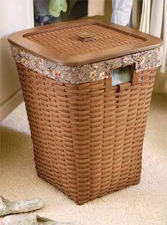 Longaberger Laundry Basket I have one of these Nantucket Baskets, Clothes Basket, Rattan Basket, Plastic Containers, Basket Decoration, Laundry Basket, Basket Weaving, Country Decor, Decorating Your Home