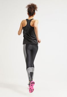 san francisco 64f5b 1a6c9 Nike Performance POWER SPEED - Tights - black white reflective silver for  £95.00