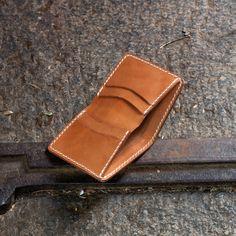 Free Leather Bi-Fold Wallet Template