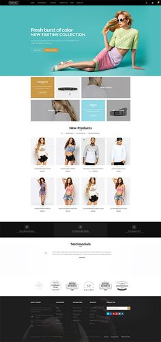 Fasony Responsive Shopify Theme is a clean and elegant design – perfect for selling clothing,cookery, accessories, fashion, high fashion, men fashion, women fashion, digital, kids, watches, jewelries, shoes, bags, glasses …..It is designed and tested to be 100% responsive so it works & displays flawlessly on all types of devices including smartphones and tablets. You can view your website wherever and whenever. http://junothemes.com/theme/fasony-shopify-theme/