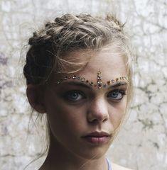 Dare to Sparkle - Alternative Bridal Makeup for a Festival Bride