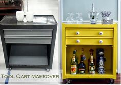 Tool Cart Makeover