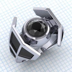 Do you know what everlasting and unconditional love sounds like? Pew pew pew! These Star Wars-inspired engagement rings from Paul Michael Design will bring balance to the Force, or your love life, rather. The sapphire X-Wing is currently unavailable (probably went on another Death Star run.) But the 1 carat Black Diamond TIE Fighter is […]