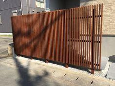 イタウバのデッキと縦格子フェンス 塗装あり | ハイムホーム&ガーデン HEIM HOME&GARDEN