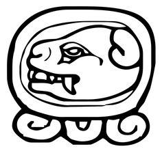 mayan jaguar glyph