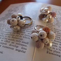 crochet ring by「ouchi」**michiyo