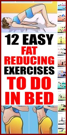 12 easy fat-reducing exercises to do in bed - News Health And Beauty Updates Fitness Workouts, Yoga Fitness, Fitness Tips, At Home Workouts, Health Fitness, Ab Workouts, Cardio, Yin Yoga, Ab Workout In Bed