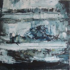 Seascapes from Ireland Metronomic Seascape by Nina Panagopoulou on ArtClick.ie
