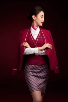 Asian Fashion, Boho Fashion, China Southern Airlines, Coachella Looks, Ladies Fashion, Womens Fashion, Cabin Crew, Flight Attendant, In Pantyhose