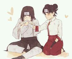 Neji and Tenten naruto Naruto Shippuden Sasuke, Anime Naruto, Hinata, Naruto Girls, Tenten Y Neji, Comic Naruto, Naruto Und Sasuke, Naruto Family, Naruto Couples